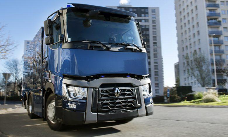 Renault Trucks T 430 6x2 blindat pentru Bank of France