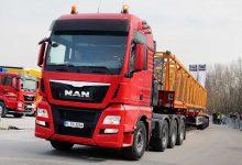 MAN TGX D38 41.640 8×4/4 pentru transportul sarcinilor grele
