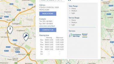 Iveco a lansat noua versiune a aplicației Dealer Locator