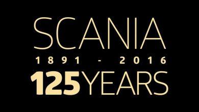 Scania aniversează 125 de ani de existență. Grattis på födelsedagen!