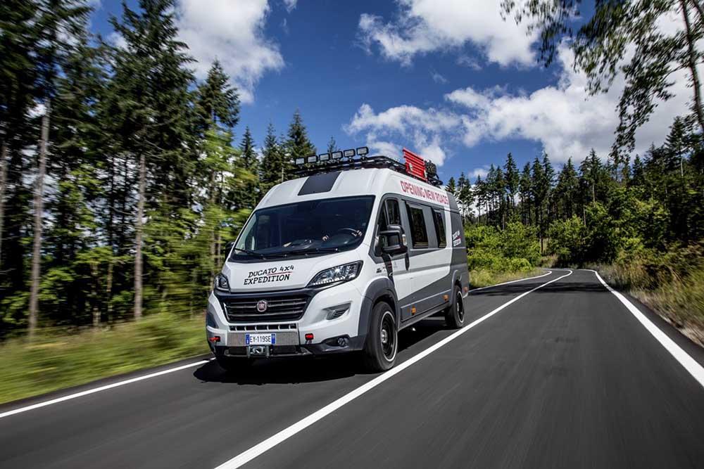 Deschide lumea cu Fiat Ducato 4x4 Expedition