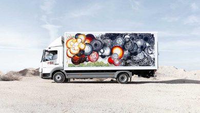 Proiectul Truck Art Project a transformat camioanele în galerii de artă mobile