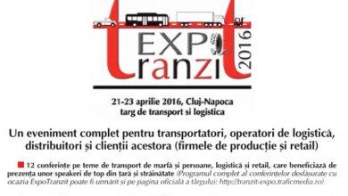 ExpoTrazit transformă Clujul în capitala transporturilor