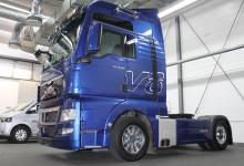 Modelul MAN TGX V8 trece la categoria 'Oldtimer'