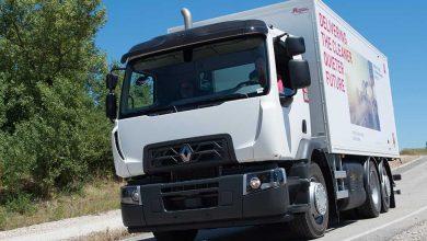Renault Trucks D WIDE CNG expus în cadrul SITL Paris