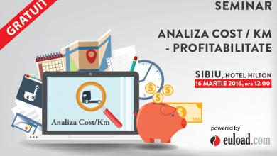 Seminar Euload pe tema costului per kilometru și a profitabilității