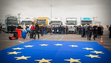 Primul test transfrontalier de camioane conectate s-a încheiat cu succes