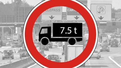 Restricție de trafic pentru camioane în Italia