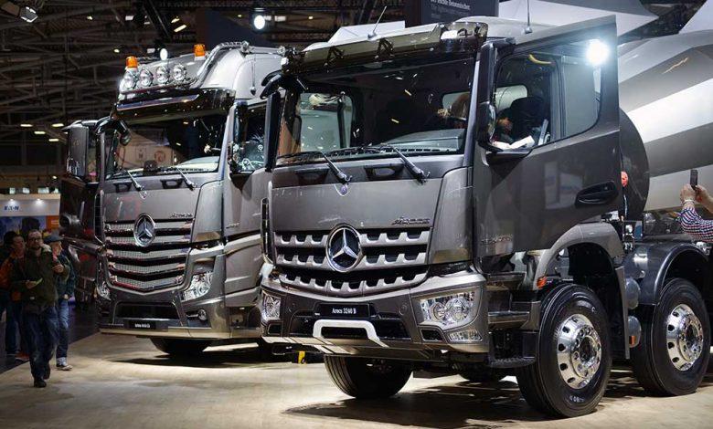 Prezență consistentă pentru Mercedes-Benz în cadrul Bauma 2016
