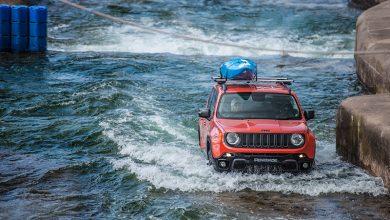 Jeep Renegade s-a apucat de rafting