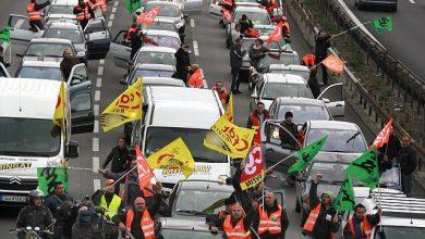 Șoferii de camion francezi ies în stradă