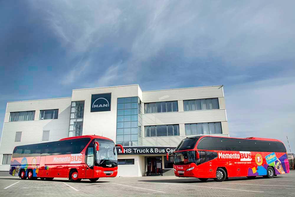 Christian Tour a achiziționat zece autocare Neoplan