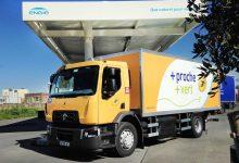 Renault Trucks D Wide CNG pentru La Poste