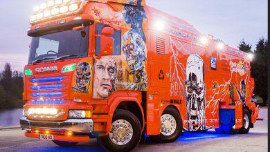 """Scania Terminator – """"Ascensiunea mașinilor"""""""