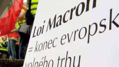 Protest împotriva salariului minim din Franța