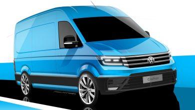 Primele schițe oficiale cu noul VW Crafter