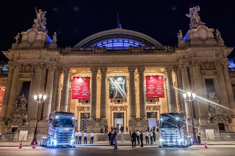 #NextGenScania a fost lansată oficial la Grand Palais din Paris