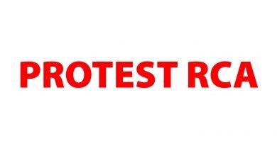 """UNTRR împarte pliante cu """"Protest RCA"""" la intersecția A1 cu Centura București"""
