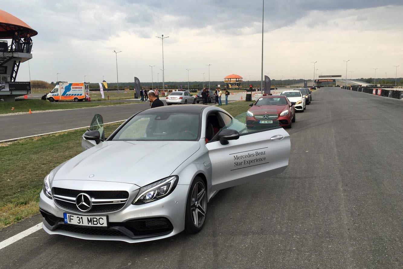 Am testat pe circuit forța, agilitatea și siguranța Mercedes-Benz
