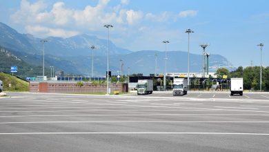 O nouă parcare securizată pentru camioane în Italia