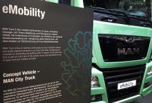 MAN a prezentat la IAA 2016 camionul electric cu sarcina de 18 tone