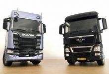 MAN și Scania vor dezvolta în comun motoarele și transmisiile