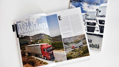 A apărut primul număr al revistei MAN Magazine în limba română