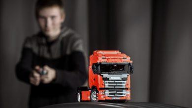 Primul model #NextGenScania produs din piese Lego