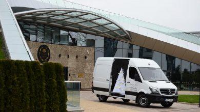 Mercedes-Benz Sprinter din nou alături de Festivalul Brazilor de Crăciun