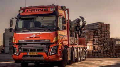 Primul Volvo FMX 10x4 TAG XL din lume a fost vândut în Olanda