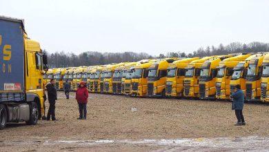 Waberer's și-a parcat temporar sute de camioane prin Europa