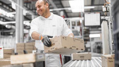 Audi introduce mânușa inteligentă în operațiunile de logistică