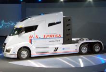 Camionul electric Nikola One alimentat cu hidrogen a fost lansat oficial pe piață