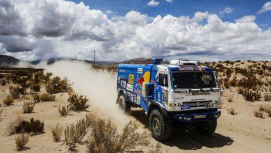 Anvelopele Continental au fost definitorii pentru Kamaz în Dakar 2017