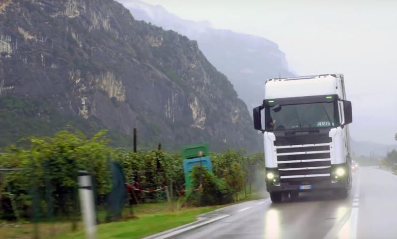 Atelierul ultrasecret Scania de la poalele Alpilor