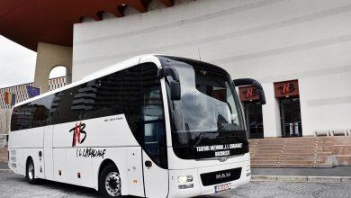 Actorii TNB vor merge în turnee cu MAN Lion's Coach