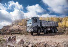 Mercedes-Benz Arocs, noua forţă în construcţii