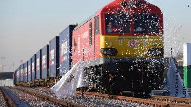 Primul tren de marfă direct din China către Marea Britanie
