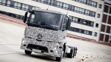 Mercedes-Benz Urban eTruck va fi produs într-o serie redusă în 2017