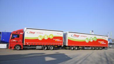 Camioanele lungi fac transportul combinat mai economic și ecologic