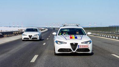 Alfa Romeo Giulia a intrat în dotarea Poliției Rutiere