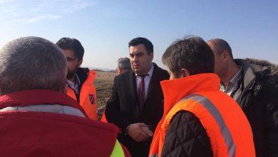 Ministrul Transporturilor a fost pe șantierul autostrăzii Lugoj-Deva (lotul 2)