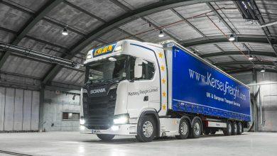 Kersey Freight este proprietarulprimul #NextGenScania din Marea Britanie