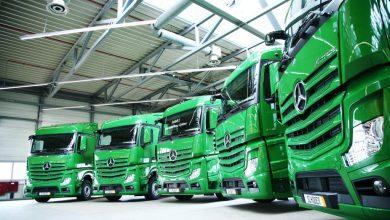 Primele camioane Actros livrate cu serviciul Mercedes-Benz Uptime