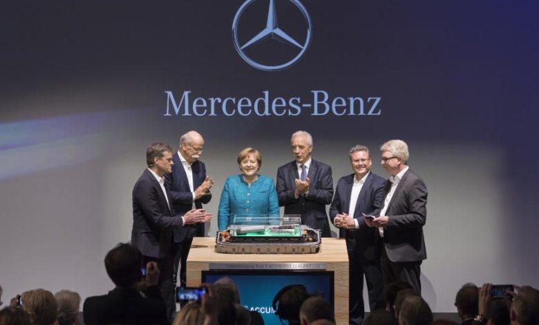 Daimler a pus bazele uneia dintre cele mai mari și moderne fabrici de baterii din lume