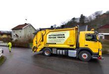 Volvo Trucks testează un camion autonom pentru colectarea gunoiului