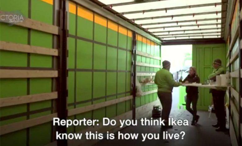 Șoferul român care transporta mobilă pentru IKEA își cere drepturile în instanță