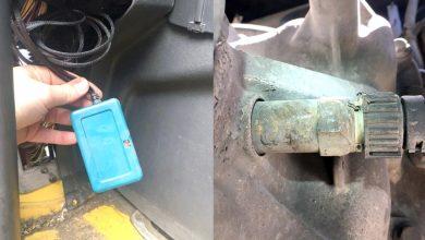 Șofer de camion român prins cu magnet și emulator AdBlue în Elveția
