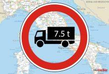 Restricții de circulație pentru camioane de Ziua națională a Italiei