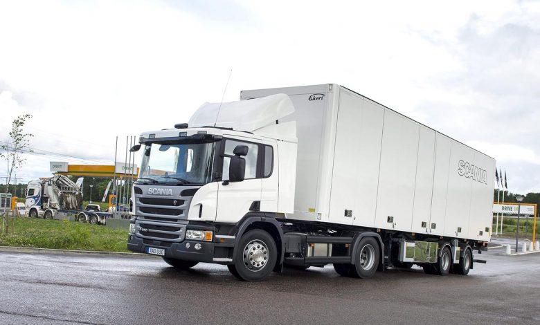 Scania a vândut în Franța primul camion alimentat cu etanol